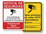 All Surveillance Signs
