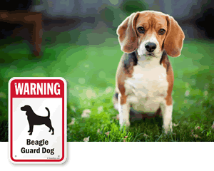 Warning Dog Breed Signs