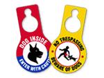 Beware of Dog Door Hangers