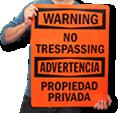 More No Trespassing Signs