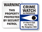 Business Crime Watch Signs