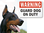 Guard Dog Signs