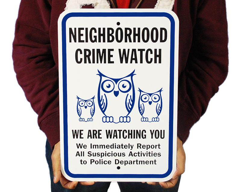 neighborhood crime watch proposal