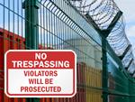 Violators Will be Prosecuted