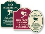 SignatureSign™ Surveillance Signs