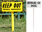 Easy Stake Signs