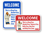McGruff® School Security Signs
