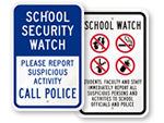 School Watch Signs