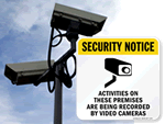 Security Camera Signs