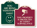 Designer Surveillance Signs
