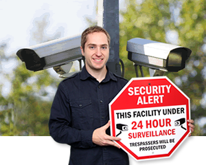 24-Hour Surveillance Signs