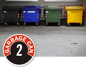 Garbage Can ID Signs