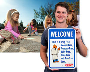 McGruff® School Safety Signs