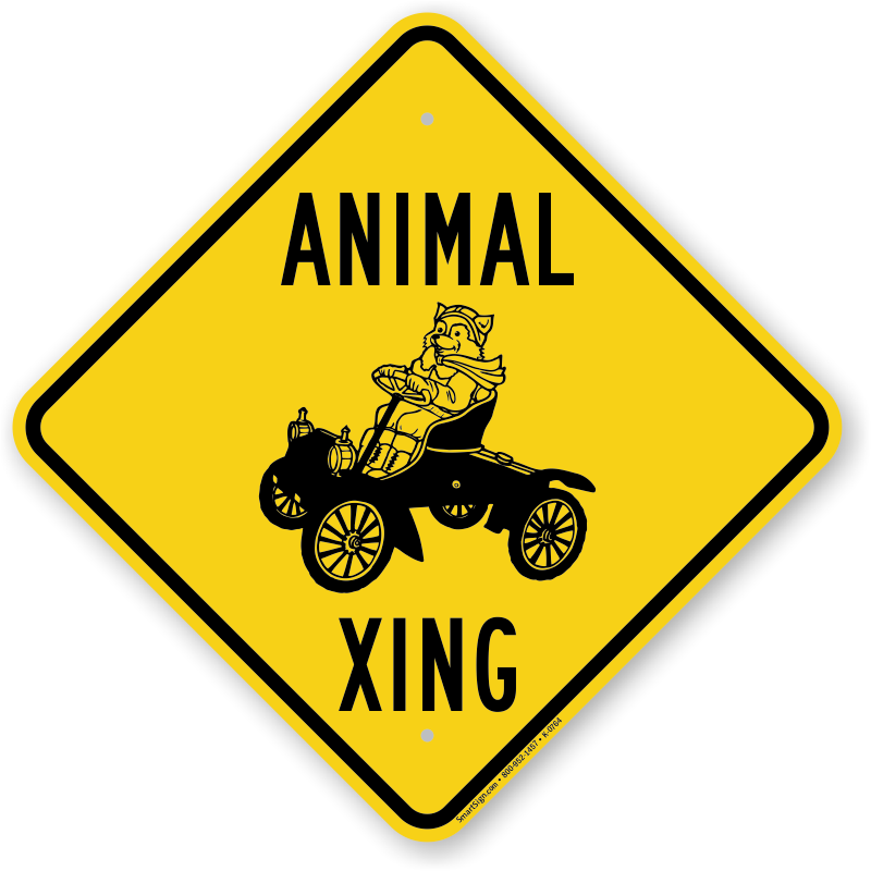 Animal Xing, Funny Crossing Sign  Free Shipping, Sku K0764. April 19th Zodiac Signs. Pneumoperitoneum Signs. Forgiveness Signs Of Stroke. Consultation Room Signs Of Stroke. Healthyplace Signs. Clinical Pathway Signs. Doctor Signs. Athlete Signs Of Stroke