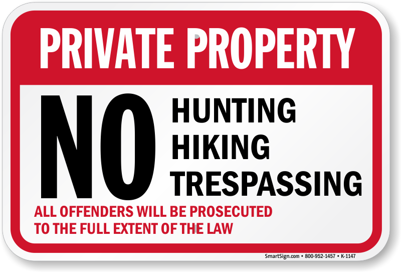 Hunting Private Property In Texas