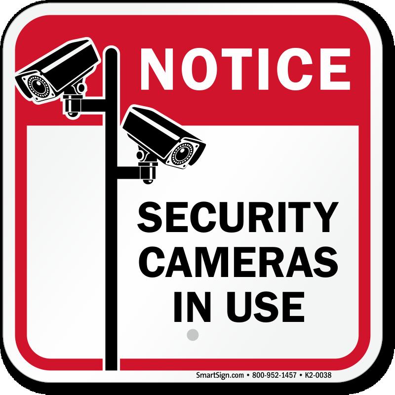 cctv signs cctv surveillance signs