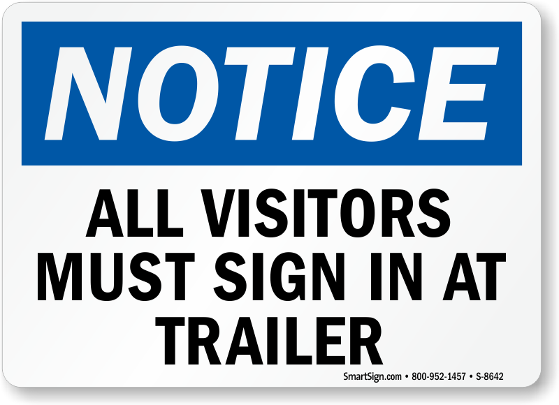 visitor sign in