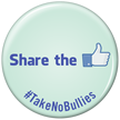 Share The With Thumps Up Symbol Button