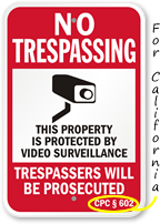 Surveillance Signs by State