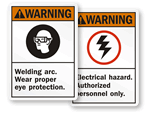 ANSI Warning Signs