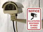 Heavy-duty, CCTV Signs