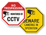 CCTV Signs | CCTV Surveillance Signs