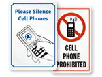 Cell Phone Signs