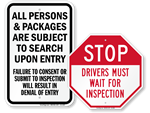 Checkpoint Signs