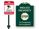 Private Community Signs