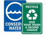 Conservation Signs