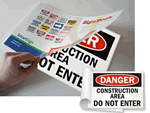 SignBooks™ For Construction Areas