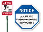 Decoy Security Signs