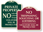Designer Security Signs