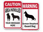 Dog Warning Signs
