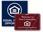 Fair Housing Signs