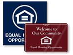 Fair Housing Signs