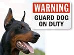 Guard Dog Signs