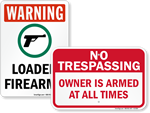 Gun Owner Signs