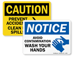 Health Safety Signs