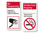iParking Security Signs