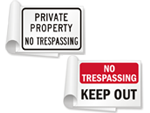 Keep Out Sign Books