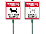 LawnBoss Dog Warning Sign