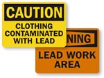 Lead Warning Signs