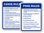 Listed Water Rules