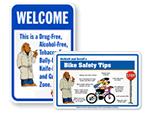 McGruff® School Safety Signs