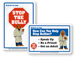 McGruff No Bullies Signs