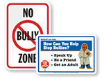 Bully-Free Signs
