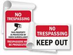 No Trespassing SignBooks™