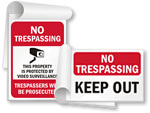 No Trespassing SignBooks™
