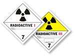Radioactive Placards
